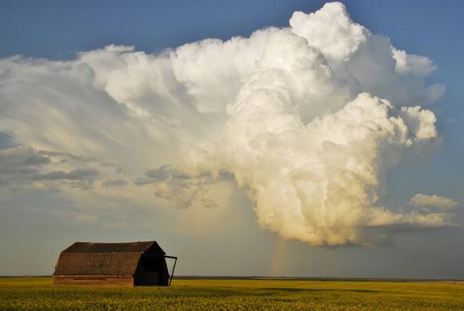 Best Landscape & Best of Show 2013 - Storm Cloud by Rella Lavoie