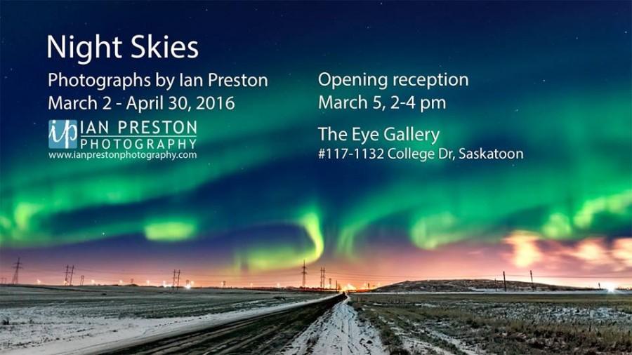 Ian Preston - Night Skies - Eye Gallery