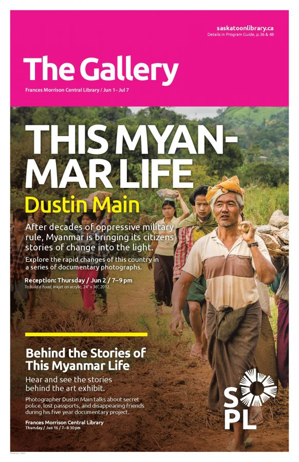 This Myanmar Life gallery poster