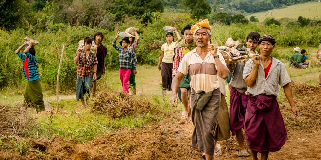 To Build a Road - This Myanmar Life - Dustin Main